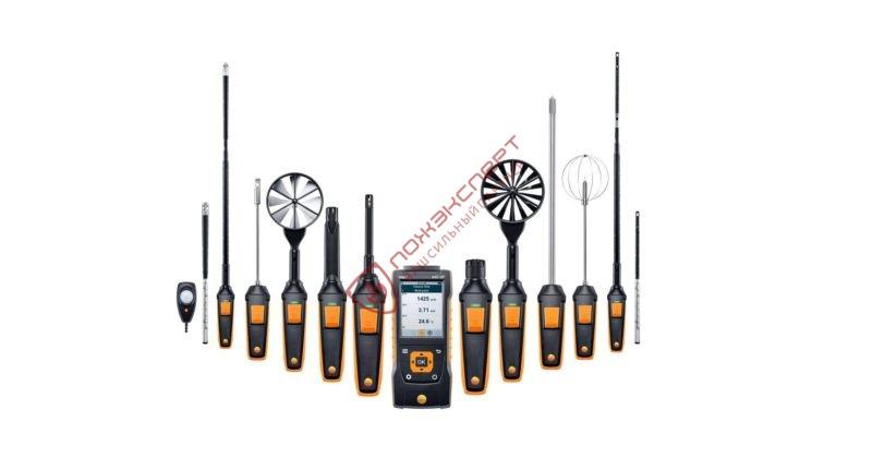 Приборы измерения скорости воздуха