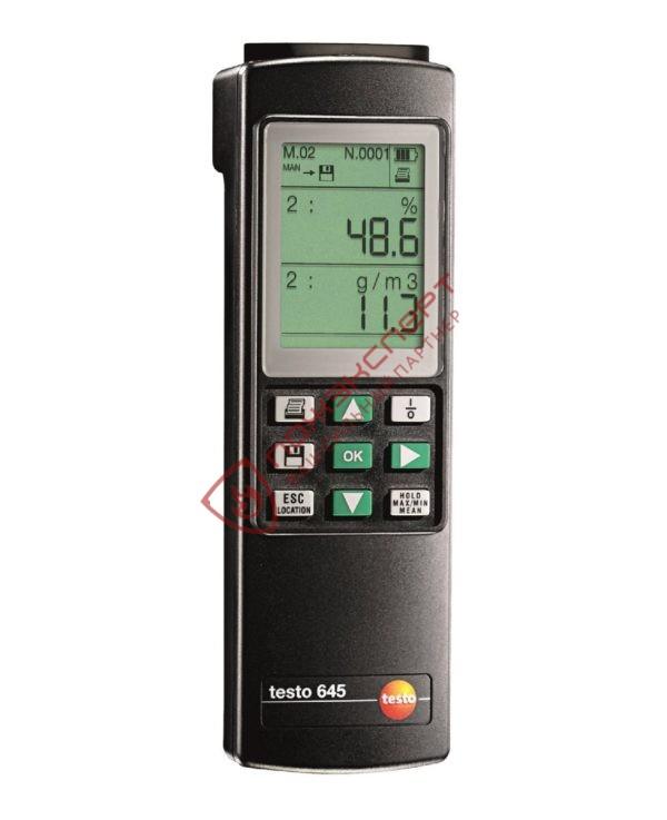 testo 645 - Промышленный термогигрометр